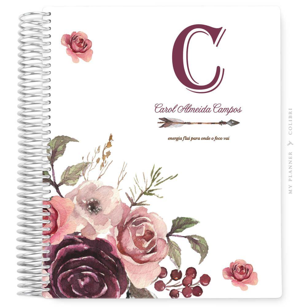 My Planner Datado 2022 Dreams Roses