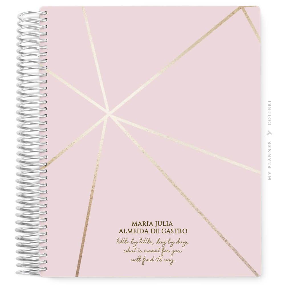 My Planner Datado 2022 Abstract Light III