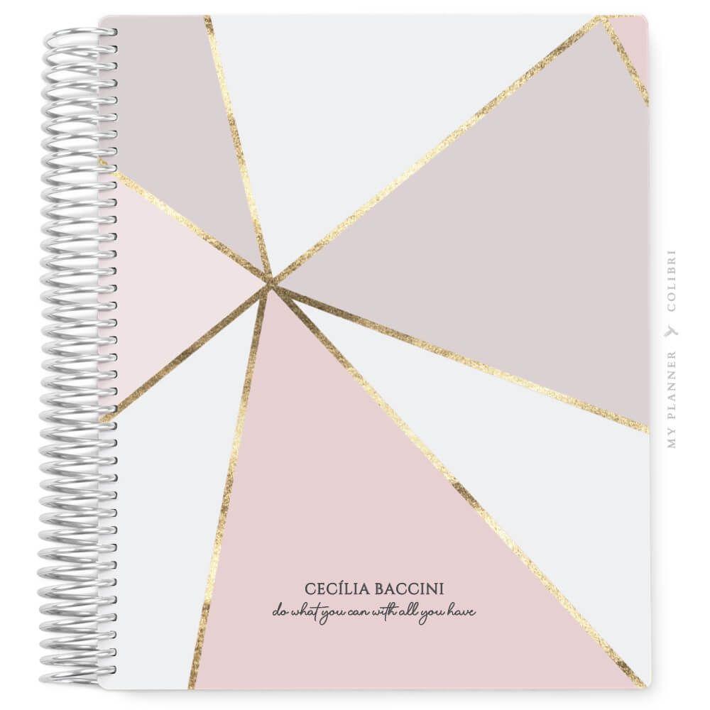 My Planner Datado 2022 Abstract Light IV