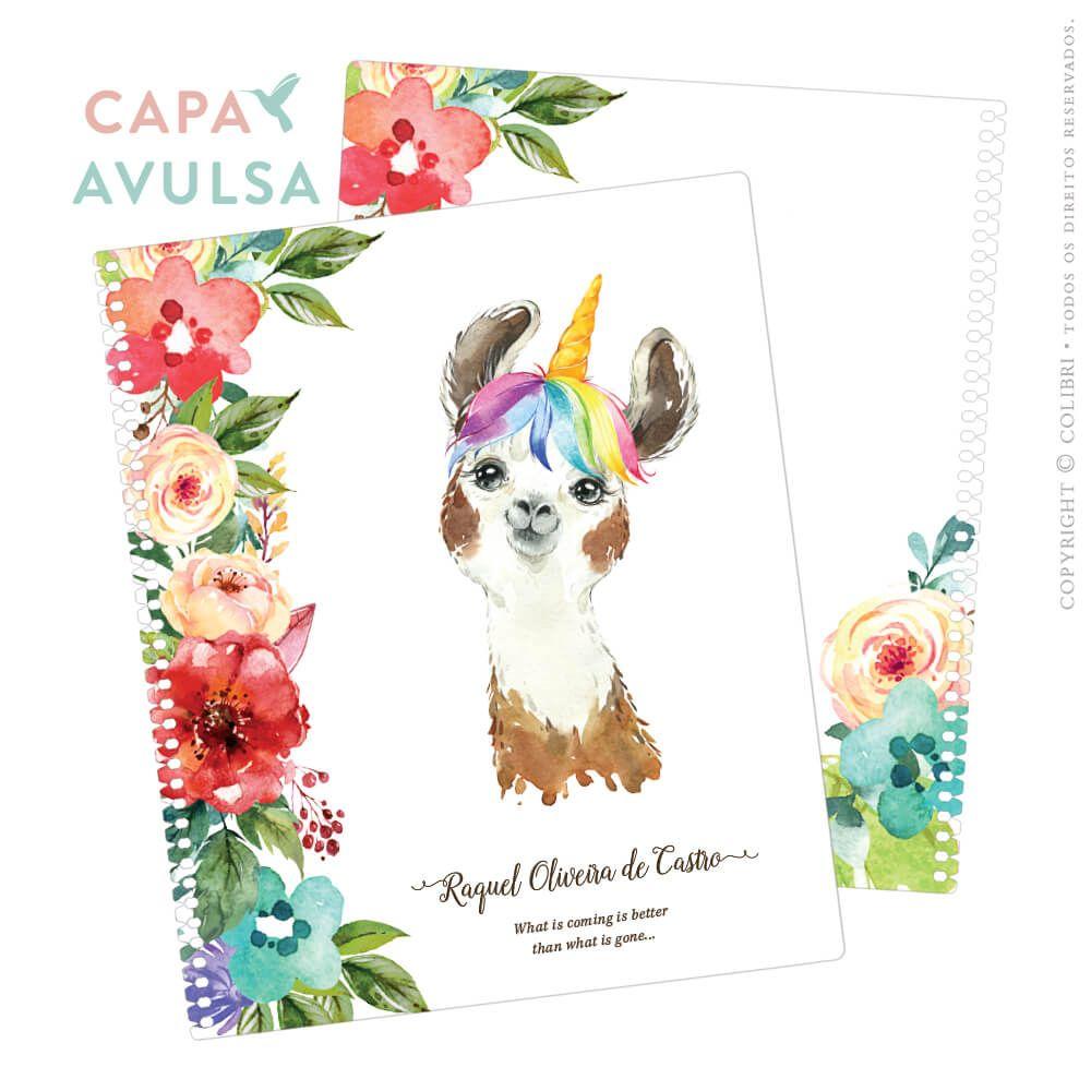 CAPA AVULSA LHAM FLOWERS IV