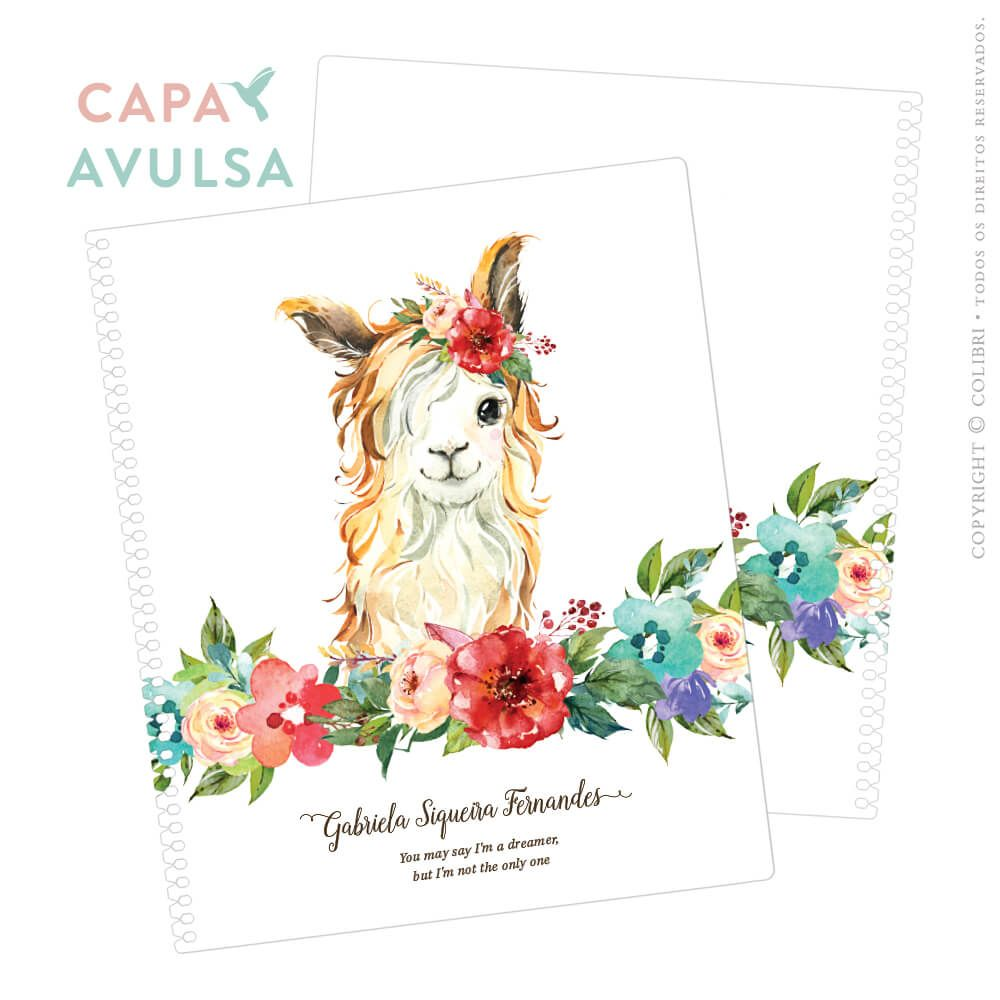 CAPA AVULSA LHAM FLOWERS III