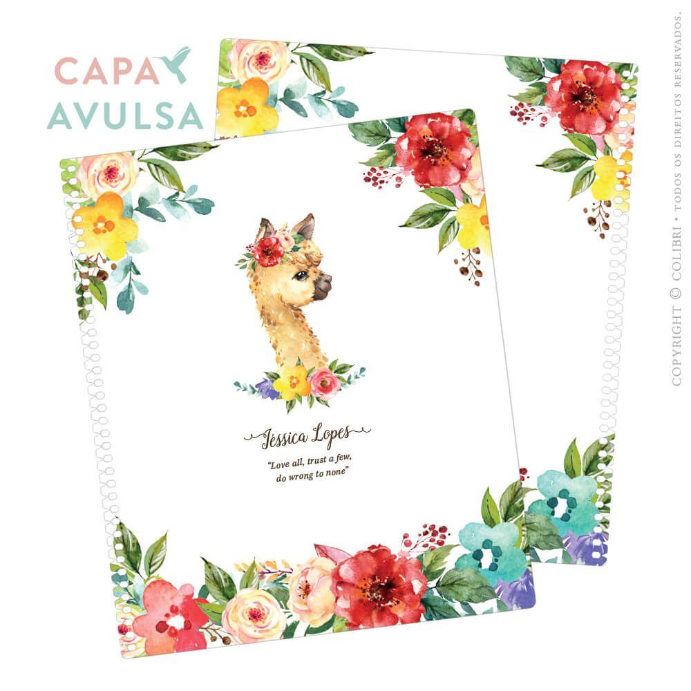 CAPA AVULSA LHAM FLOWERS II