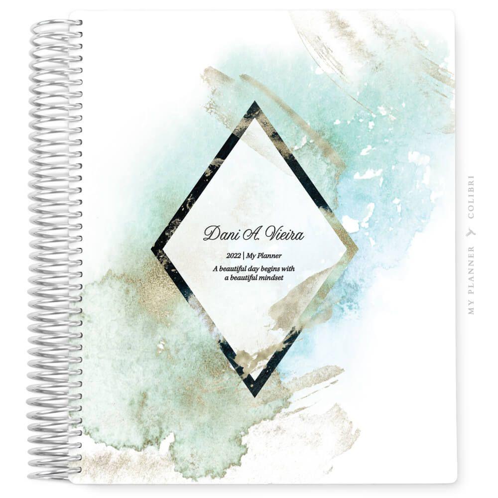 My Planner Datado 2022 Clouds Diamond