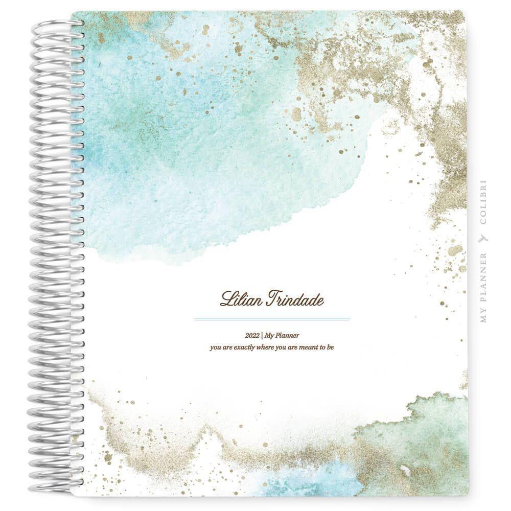 My Planner Datado 2022 Clouds Ocean