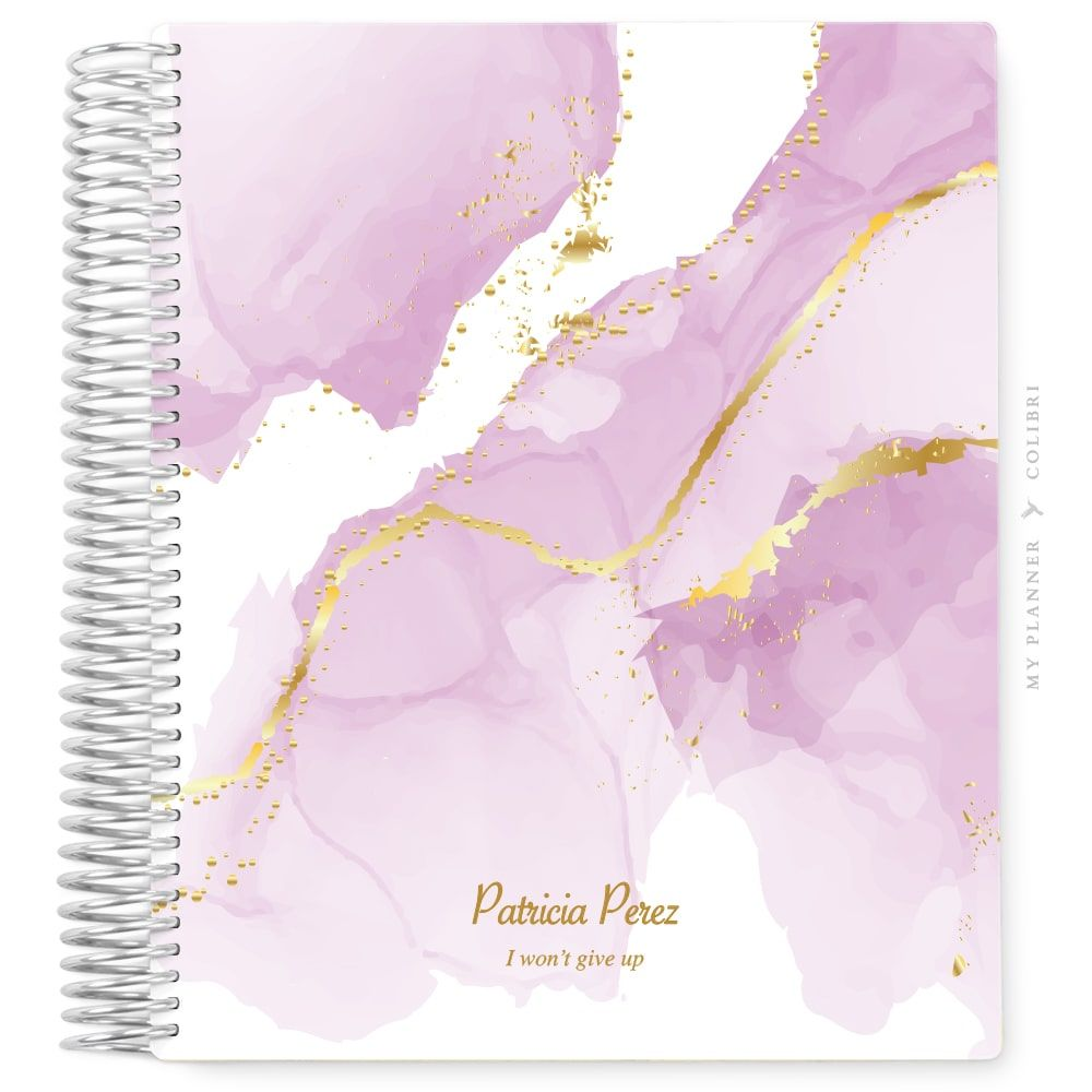 My Planner Sem Data Deluxe Lilac