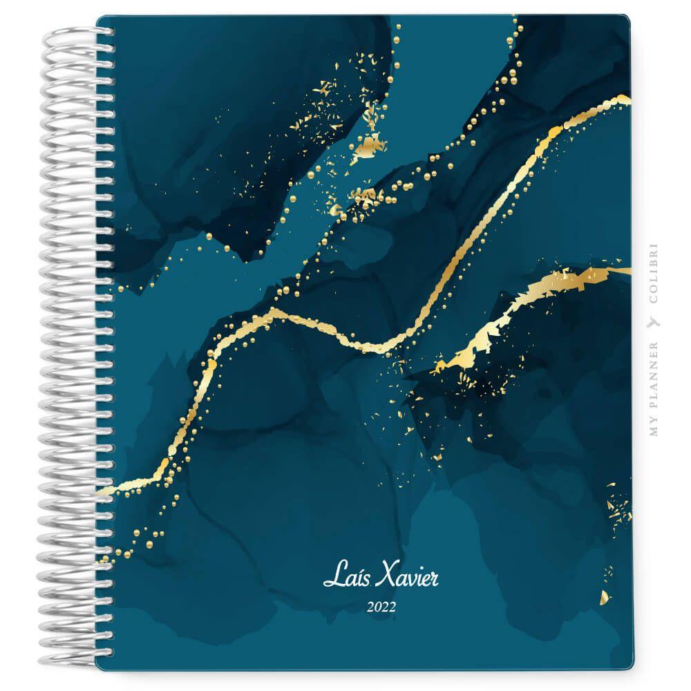 My Planner Sem Data Deluxe Navy