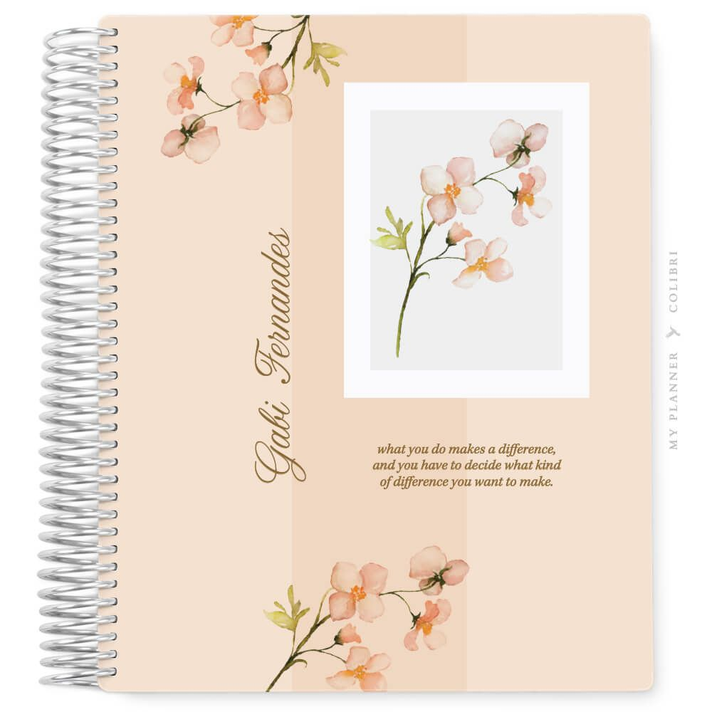 My Planner Sem Data Encanto Blossom