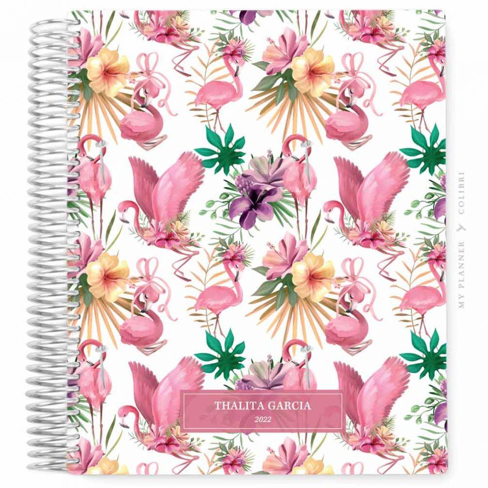 My Planner Datado 2022 Flamingo Tropical I
