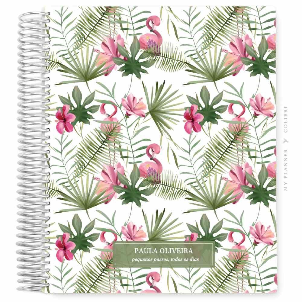 My Planner Datado 2022 Flamingo Tropical IV