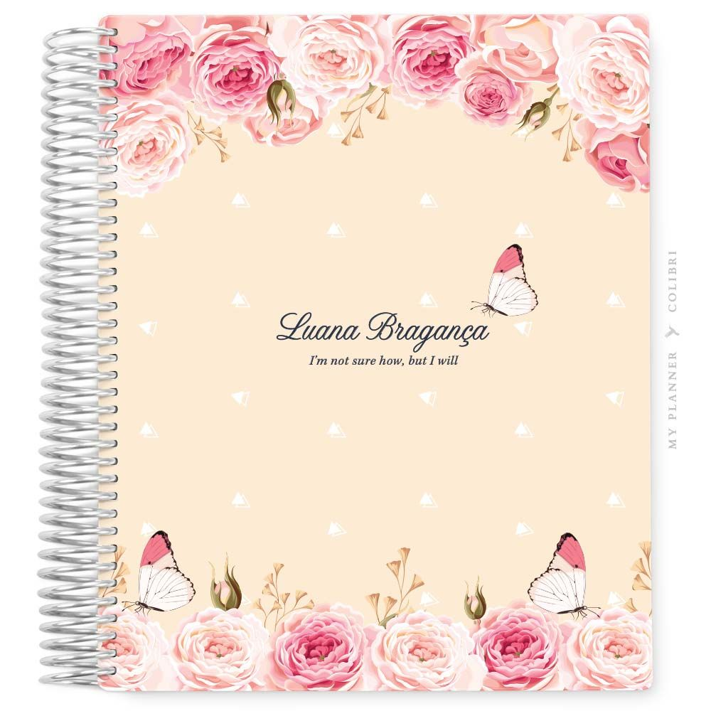 My Planner Datado 2022 Freedom Roses III