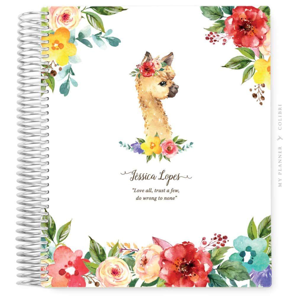My Planner Datado 2022 Lham Flowers II