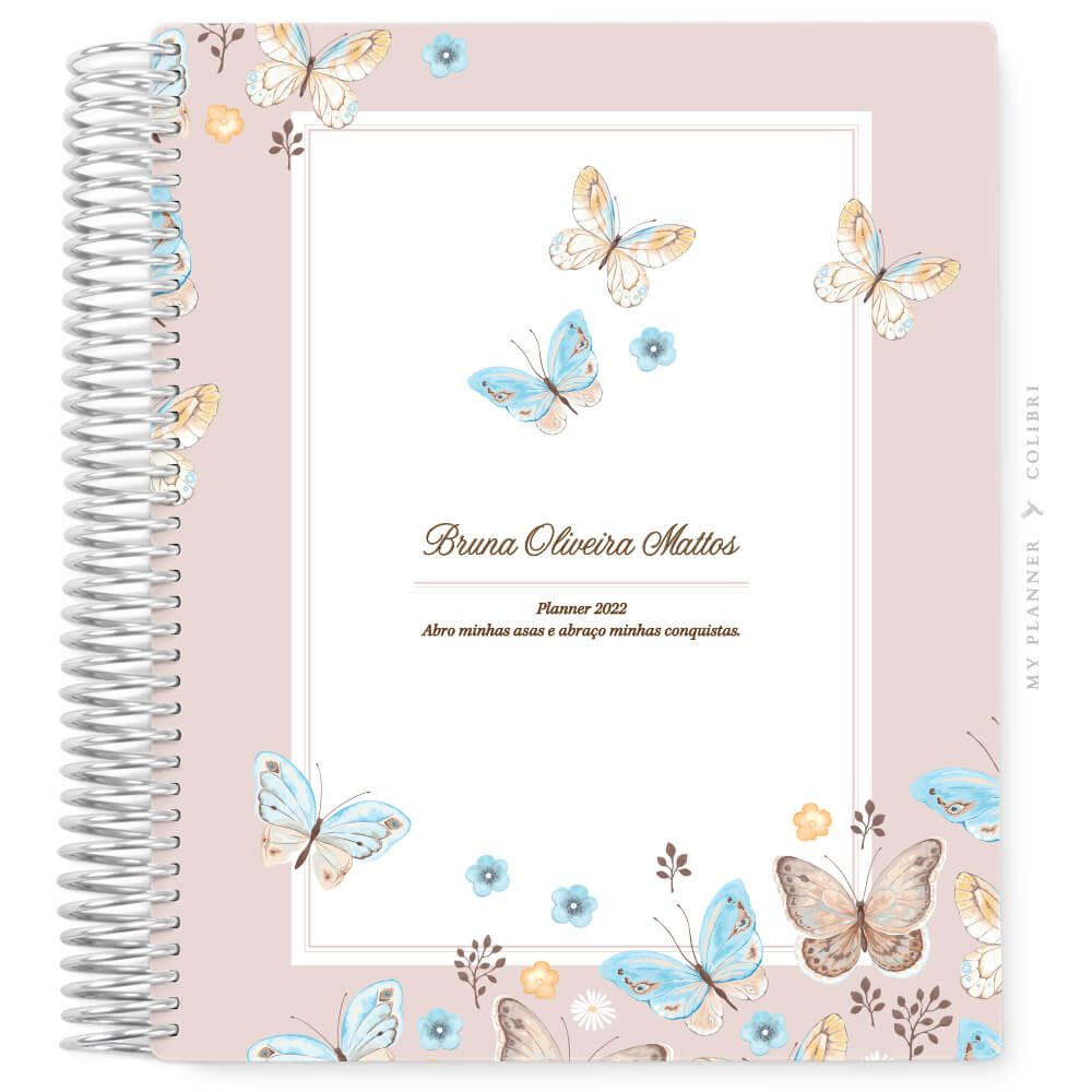 My Planner Sem Data Liberté Rose