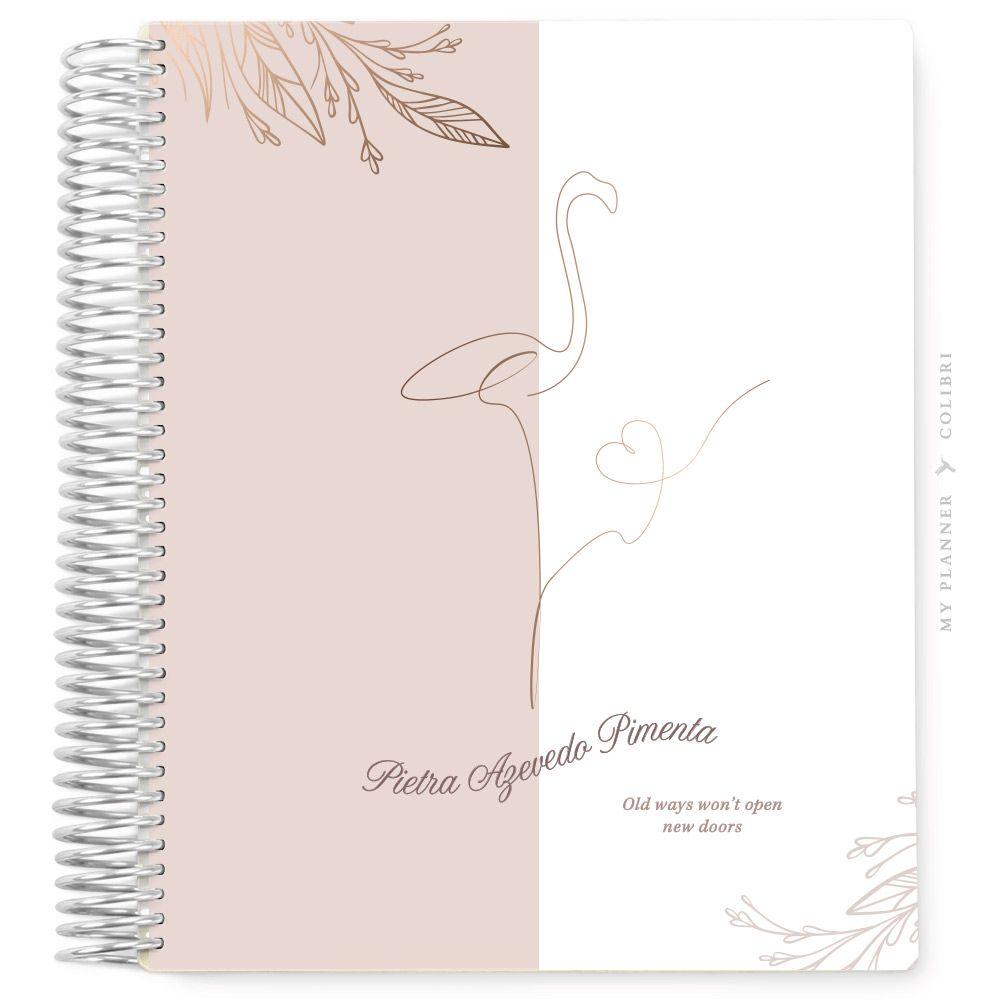 My Planner Sem Data Lines Flamingo