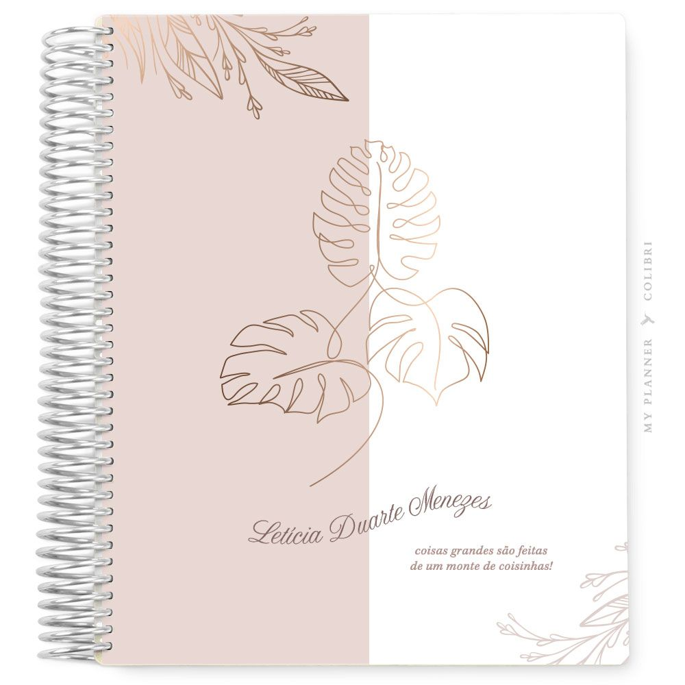 My Planner Datado 2022 Lines Leaf