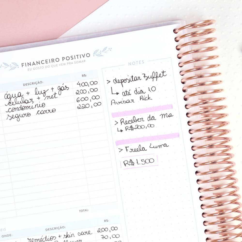 My Planner Sem Data Encanto Golden