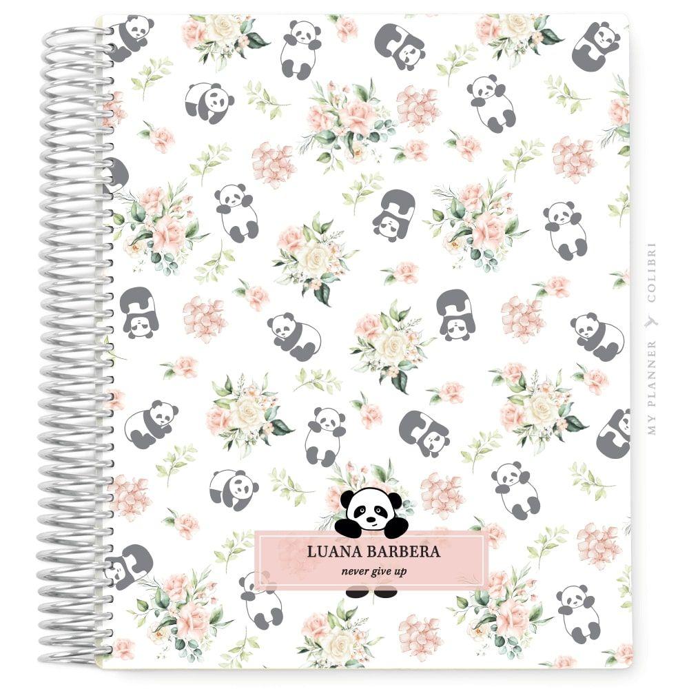 My Planner Sem Data Pandinha Floral I