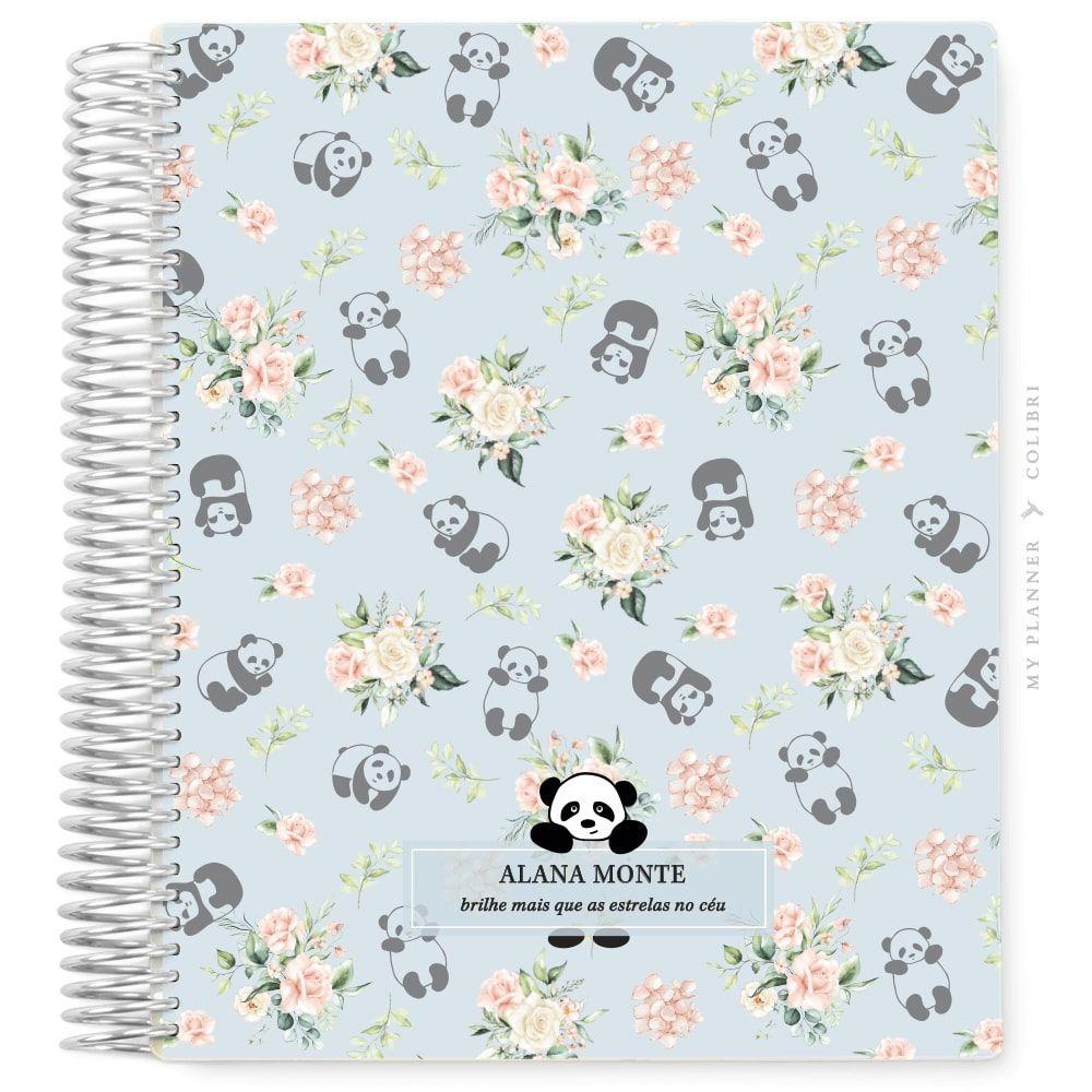 My Planner Sem Data Pandinha Floral IV