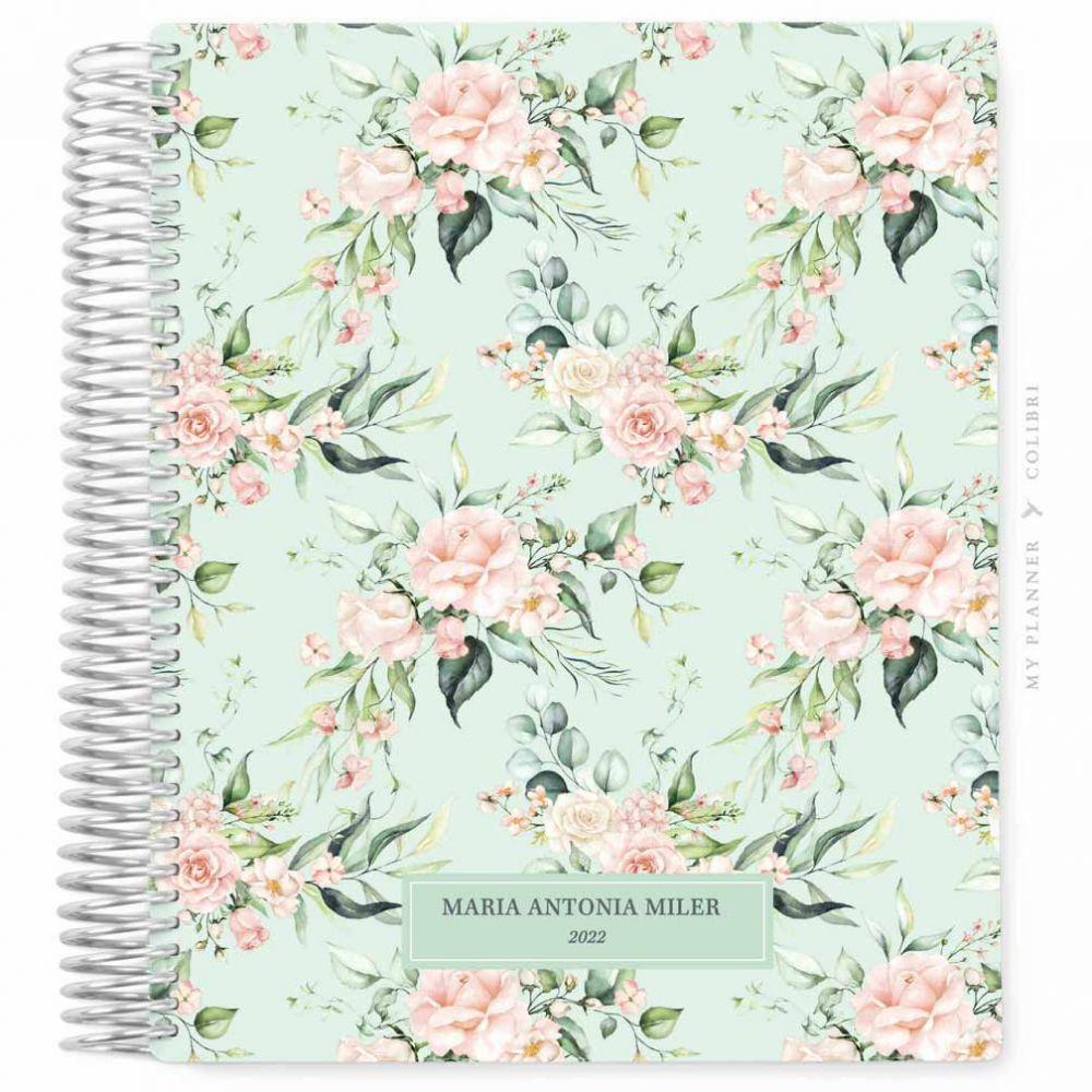 My Planner Datado 2022 Rose Flower Classy I