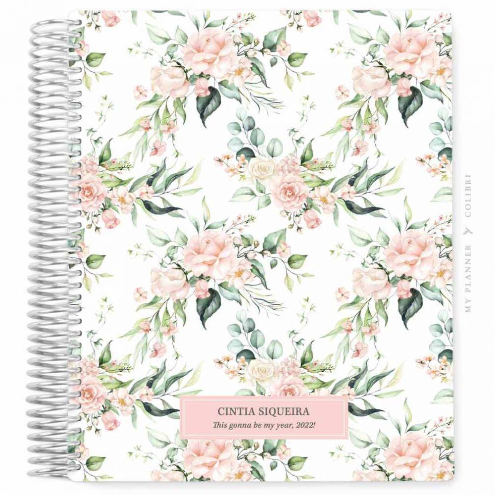 My Planner Datado 2022 Rose Flower Classy II