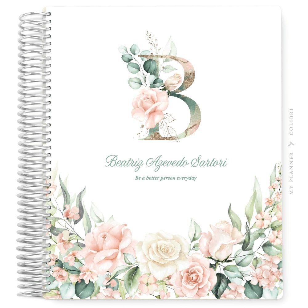 My Planner Datado 2022 Rose Flower Elegance II
