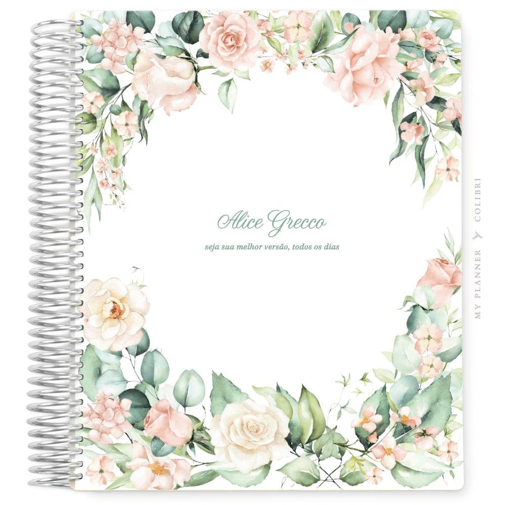 My Planner Datado 2022 Rose Flower Elegance III