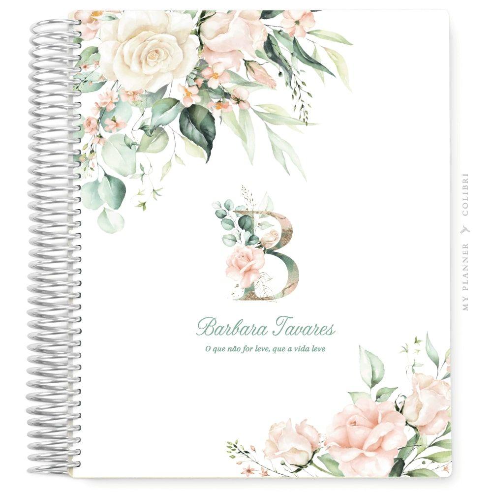 My Planner Datado 2022 Rose Flower Elegance IV