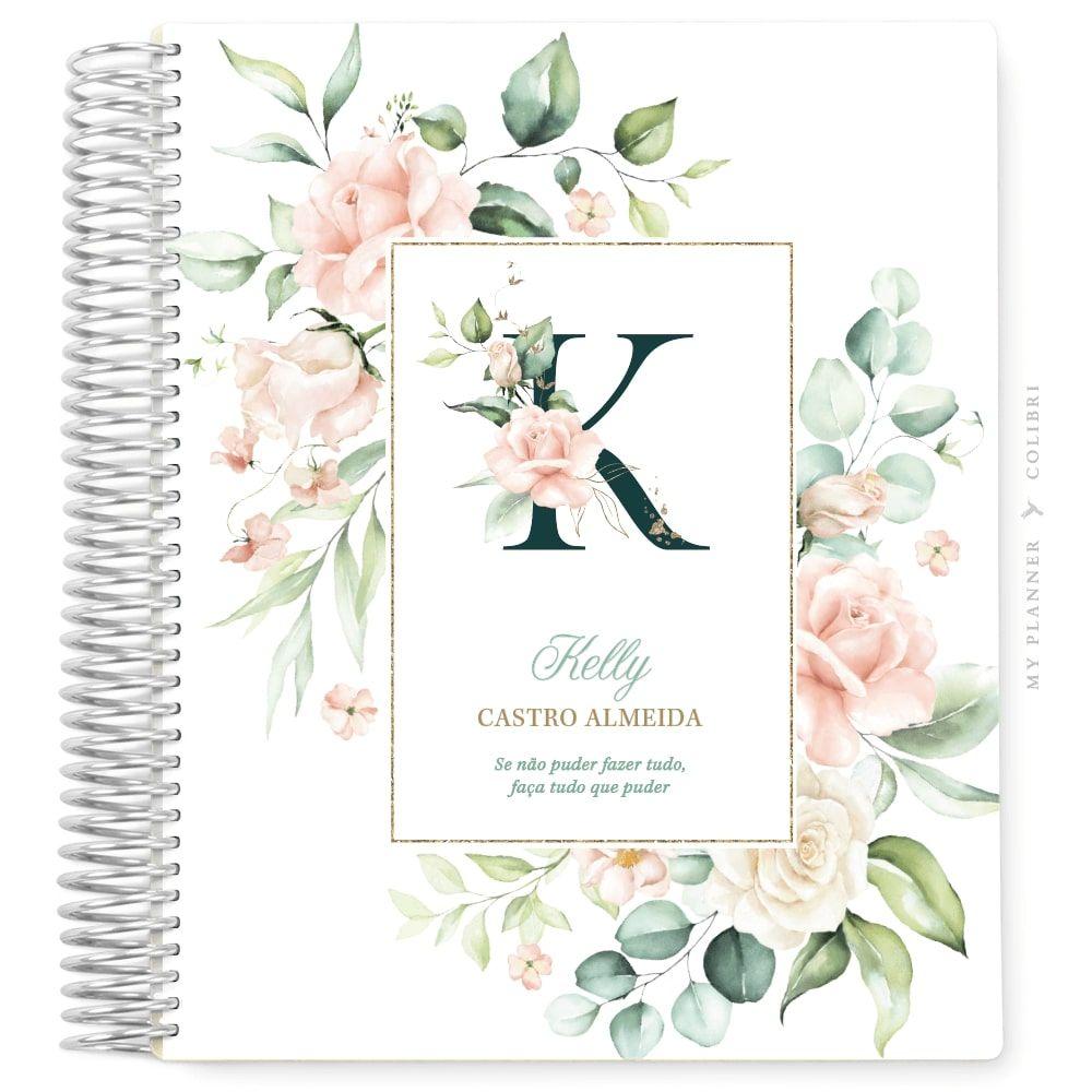 My Planner Datado 2022 Rose Flower Love III