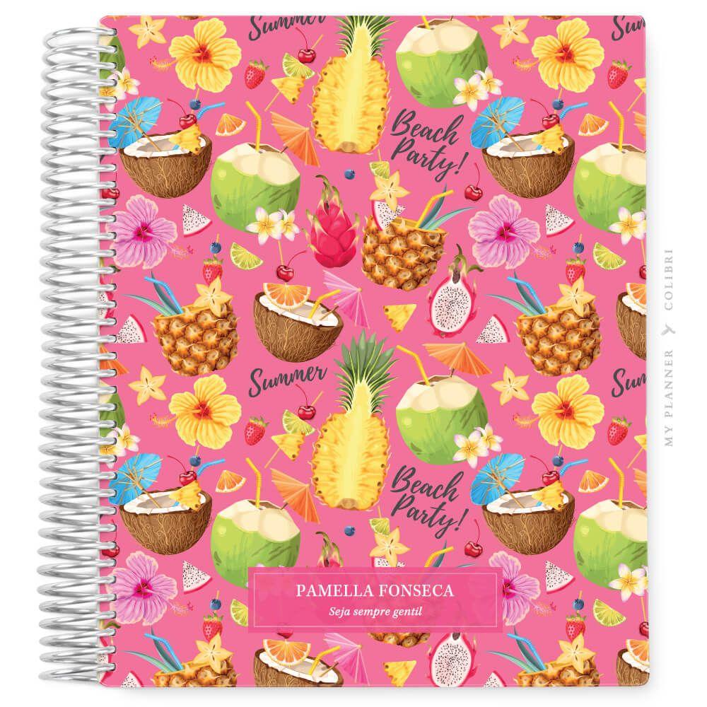 My Planner Datado 2022 Tropical Pink